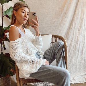 NWT Free People Sunday Shore Pullover